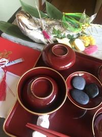 お食い初めのお祝い  【鯛の塩焼き・赤飯・お食い初め膳】