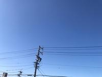 すっかりお天気