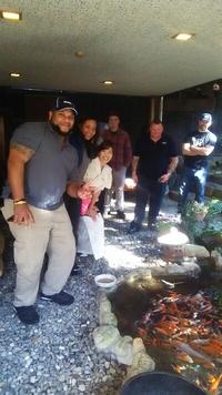 世界各国より日本へ研修旅行  花屋敷で和食体験