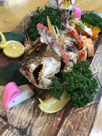 ご自宅で御祝い会食の演出に尾頭付き鯛塩焼きを!