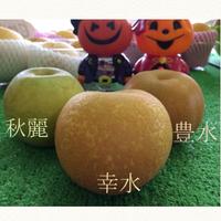 梨の食べ比べ 2019/09/01 07:00:44