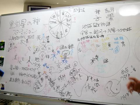 星の種基礎講座が終わりました。(^O^)/