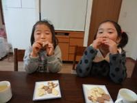 親子で簡単手作りクッキーはいかがですか?(*^。^*)