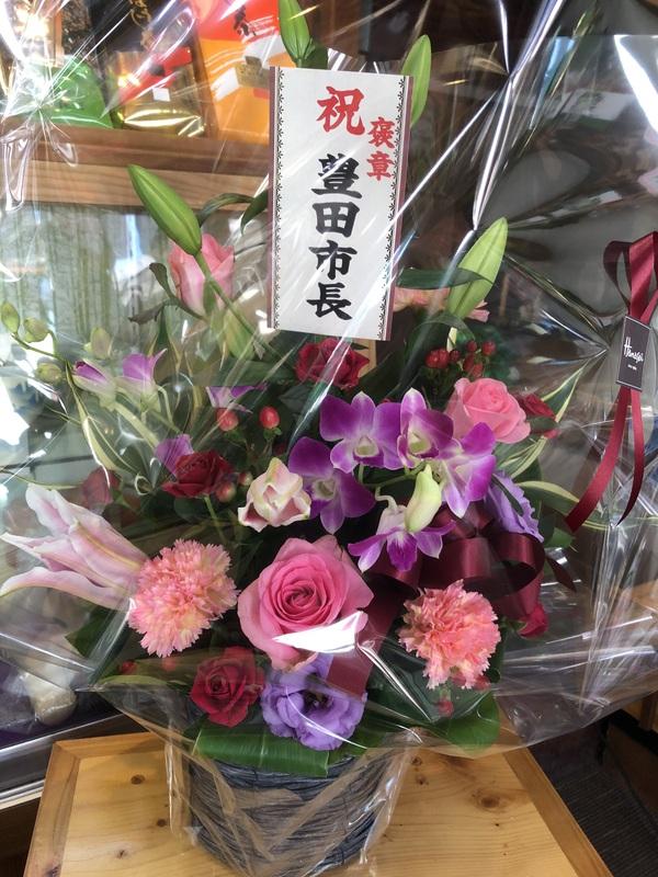 お花の香りで華やか!感謝です!!