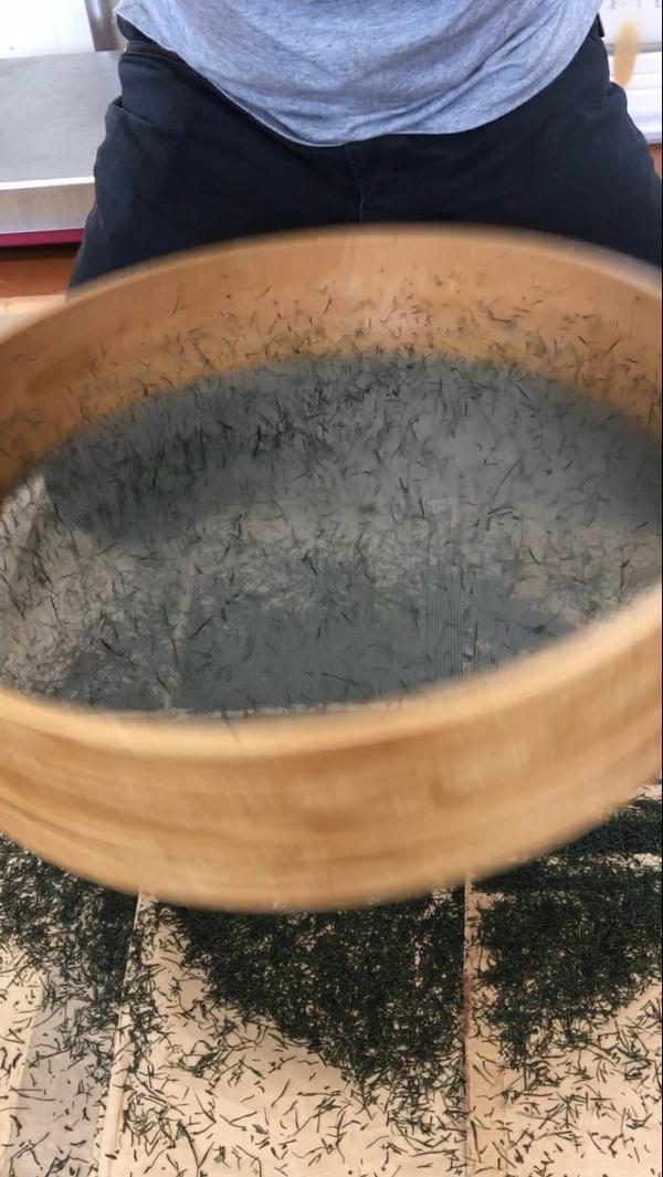 お茶の品評会!!