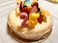 ケーキでお祝い!!