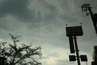 真っ暗な空・・・・