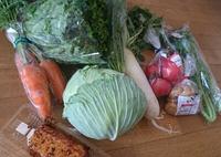 にこにこ農園さんの野菜をゲット!