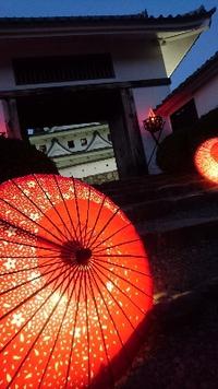 郡上八幡城のライトアップイベントへ♪ 2017/11/14 17:50:00