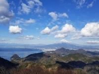 伊豆の国パノラマパークで富士山♪ 2018/01/29 20:20:00
