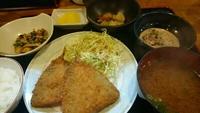 三松(豊田)で定食ランチ! 2017/03/23 18:58:37