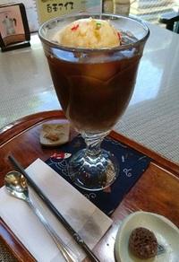 かしわや(豊田)で懐かしいコーヒーフロート♪