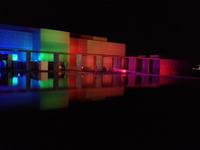 豊田市美術館ライトアップ!