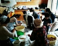 味噌作り  in  コッコ   自分で作る味噌は特別な味がします。