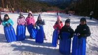 雪⛄滑り  いなか塾②~昼食の後は【旭高原元気村で雪そり編】