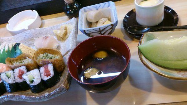 新寿司さんでランチ♪