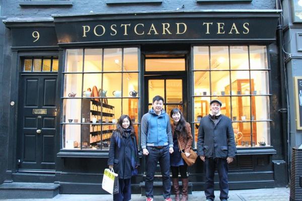 農家の手作り新婚旅行③念願のPostcard Teas訪問