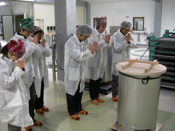 今年も関谷醸造で夢農人オリジナル酒☆