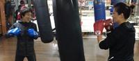 ボクシング体験大歓迎です☆
