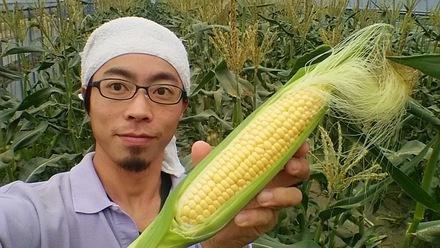 5日のマルシェはトウモロコシフェア☆