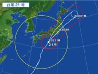 また台風ですか(;´д`)