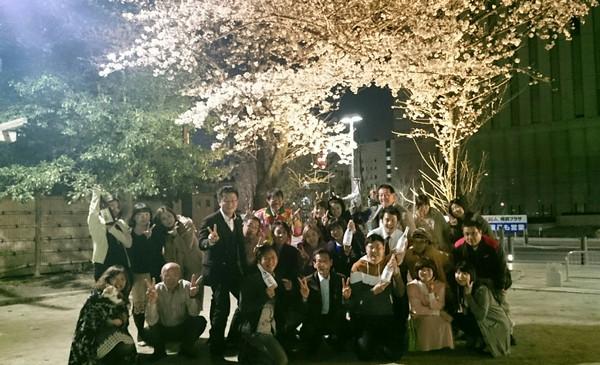 ころも農園酔いどれ夜桜お花見会☆