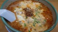 よか晩屋の卵とじ担担麺☆