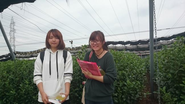 中京大の学生さんが取材に来てくれました♪