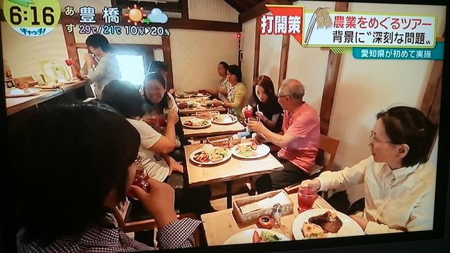 中京TV「キャッチ!」で夢農人メンバーが紹介されました☆