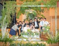 農家の手作り結婚式⑩友人たちが披露宴スタッフ!