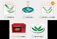 使い方は簡単!レンジでチンッするだけです!!「すぐ食べレンジ袋」今売れてます!!!誰でも簡単においしい野菜を!
