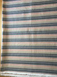 洋服生地で着物を仕立てました。