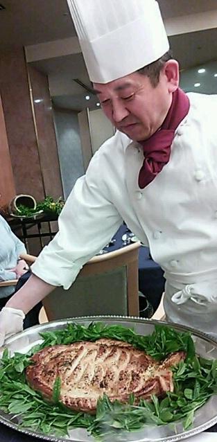 名鉄トヨタホテルで下山茶ディナー☆