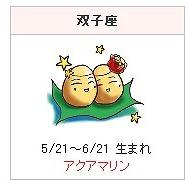 星座石の話 -双子座-