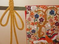 日本刺繍の・・・