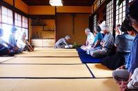 犬山の岩田洗心館でユニークな珈琲茶会