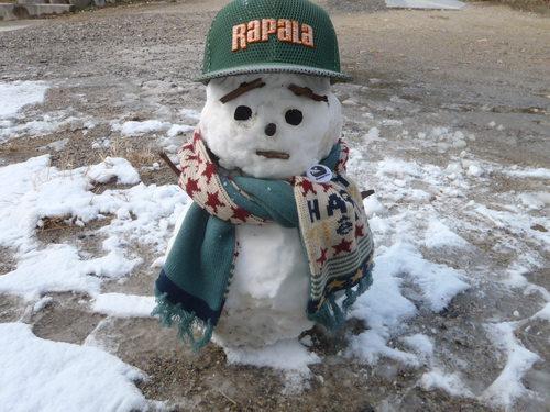 雪だるま(^^♪