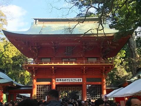 成田山と鹿島神宮お参り