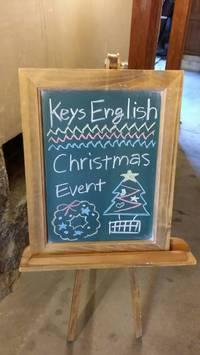★Keys English クリスマスイベント★