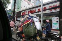 ②中国国際航空で行くベトナム ベトナム料理のお店に突入