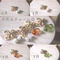 ブレスウォッチ専用誕生石チャーム☆ 2016/04/25 08:38:27