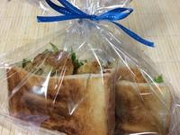 サンドイッチはラッピングで〜(*ˊૢᵕˋૢ*)
