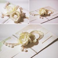 パールの小花のご祝儀袋(*ˊૢᵕˋૢ*)