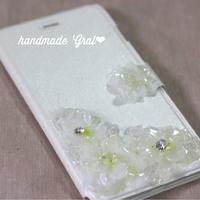 お花と天然石のiPhoneケース♡ 2016/04/03 09:23:53