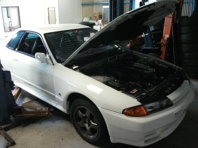 スカイラインGT-Rの修理がんばりました。