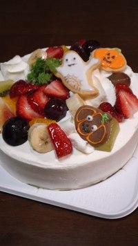 今日、手作りケーキを頂きました♪