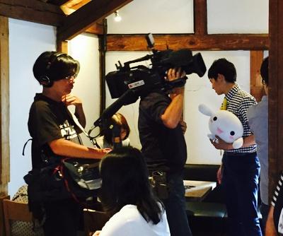 中京テレビ 『ともだチュウキョ~!』の撮影に来てくれました。