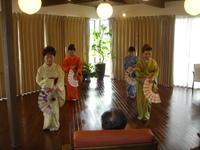 日本の文化に触れました! 2016/04/12 11:56:17