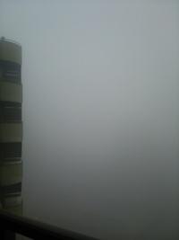 濃霧に注意!