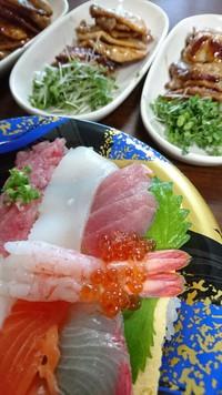 海鮮丼と豚丼